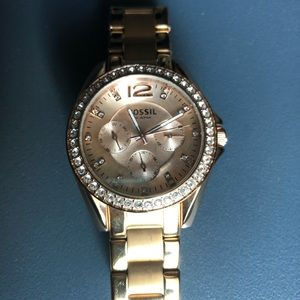 Fossil Women's Riley Chronograph Watch